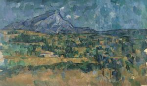 Abstract Expressionisme kunst Paul Cezanne Mont Saint Victoire kunstwerk 2